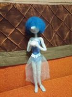 Steven Universe - Blue Pearl Feltie by feltgood