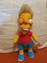 Just like Bart! Monster Factory-inspired plush