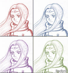 Faces of Neji? by RedlynX