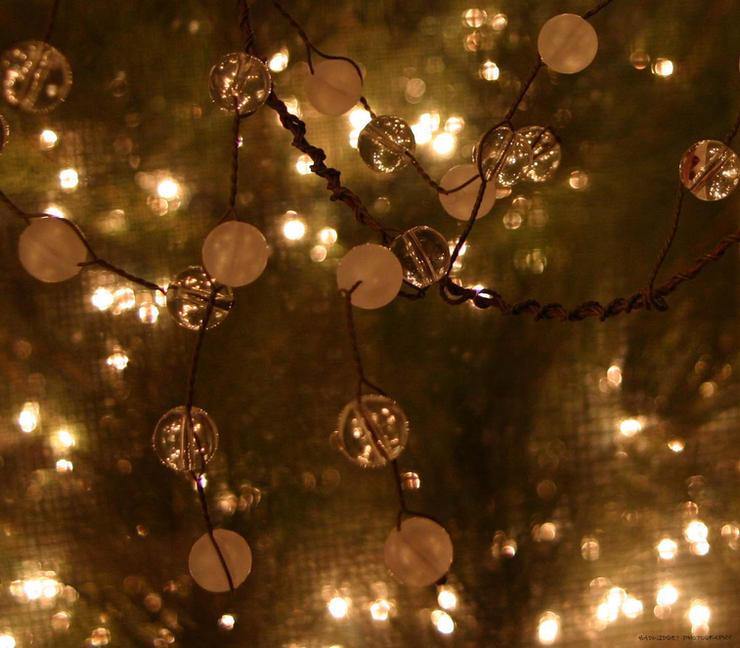 Christmas Beads and lights