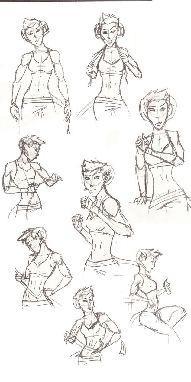Sketchdump1 by TheSpellboundFox