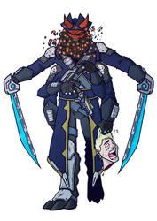 Alien Edward Blackbeard Teach by Kendal14