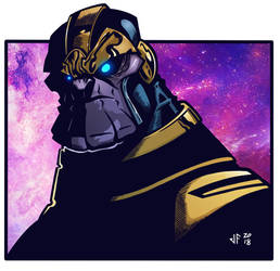 Thanos by Kendal14