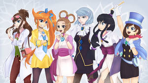 Girls of Ace Attorney