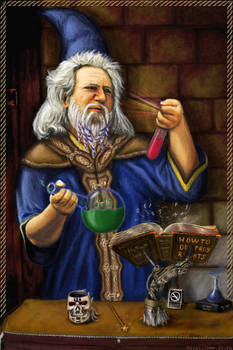 Alchemist Mage