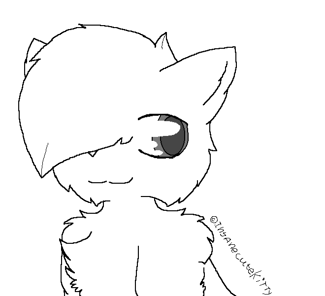 Simple Cat Lineart : Free simple cat lineart by insanecutekitty on deviantart