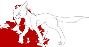 FREE Killing Spree Cat Lineart