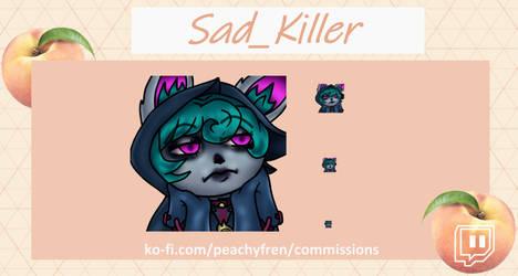 Commissioned Emote (Sad_Killer)