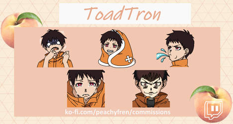 Commissioned Emotes (ToadTron)