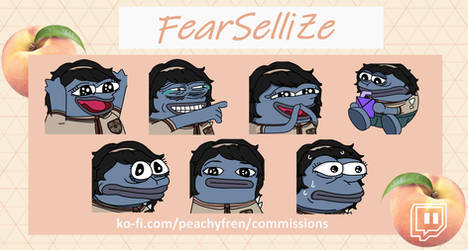 Commissioned Emotes (FearSelliZe)