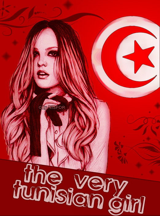 the very tunisian girl by nisfor