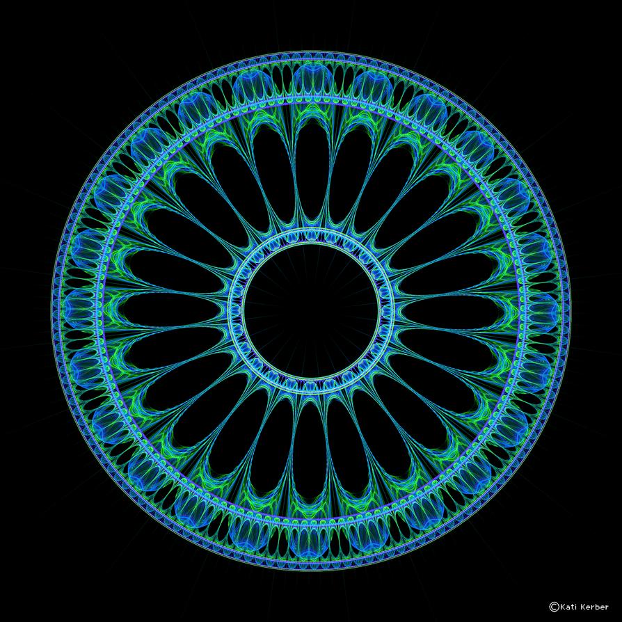 Circle Pattern 5 by Bulldoggenliebchen