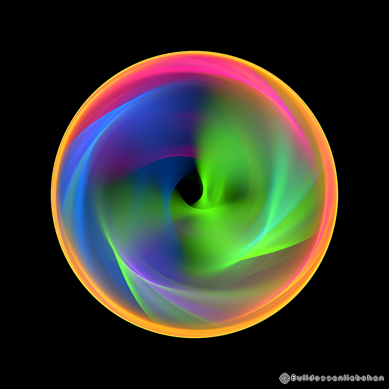 Wheel full of colors by Bulldoggenliebchen
