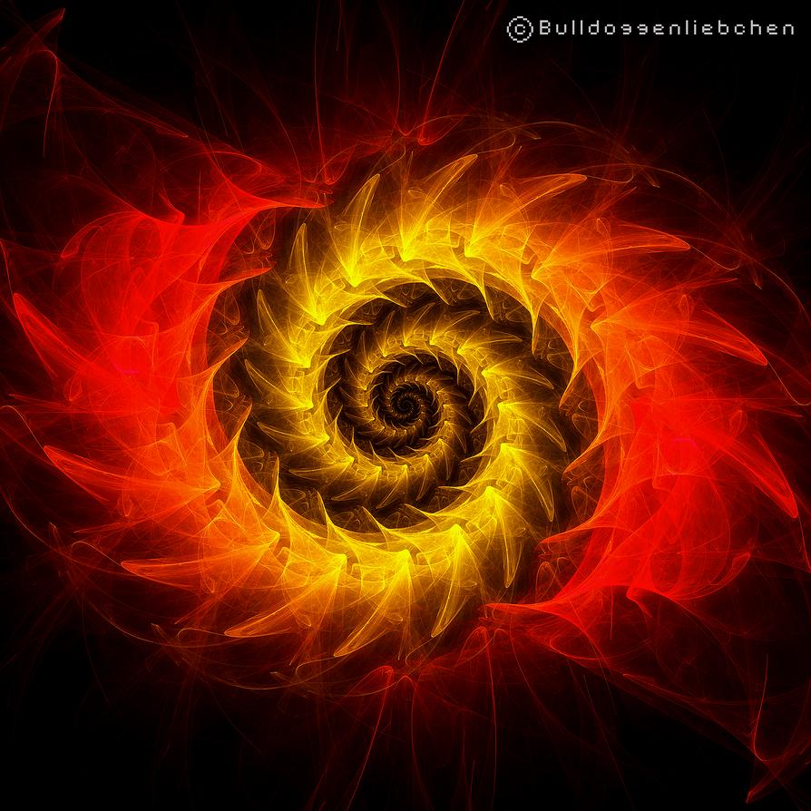 Feuerwirbel by Bulldoggenliebchen
