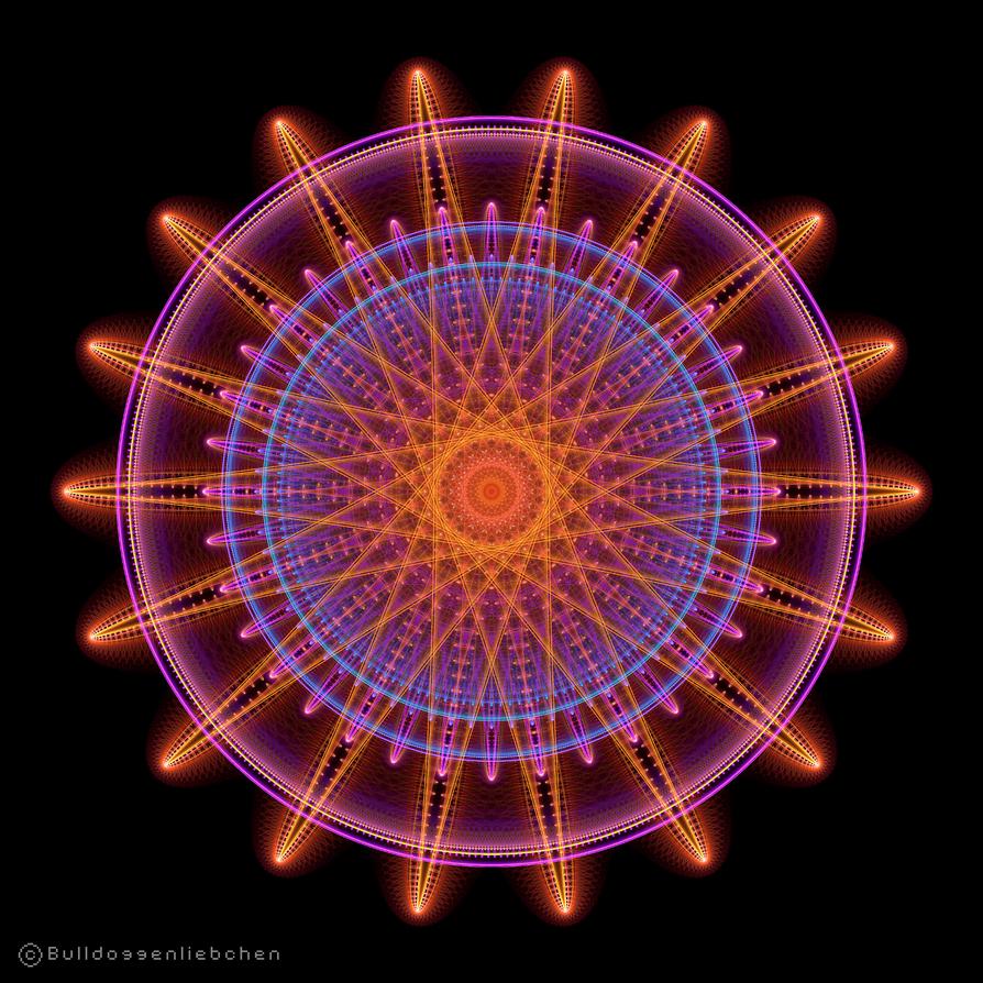 Neon Yarn by Bulldoggenliebchen