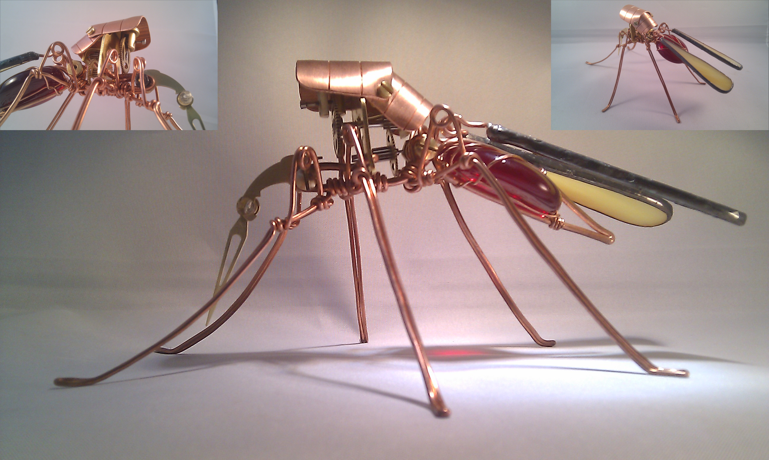 Steampunk Mosquito by Henri-1