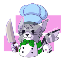 overcooked mouse but its actually my fursona by squiiiddo