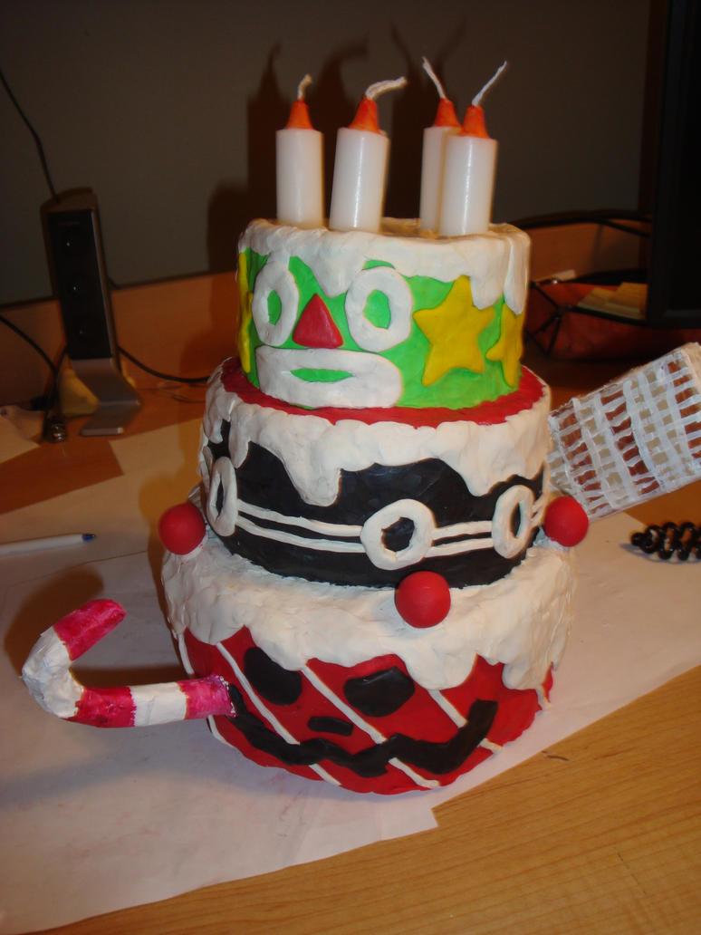 Bundt the cake clay by Jigsawelder