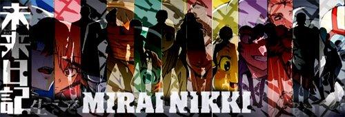 Mirai Nikki (12 diary holders) by peketo