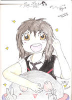 Peni Parker Gido Amagakure style re-makeover by DetectiveKid1412