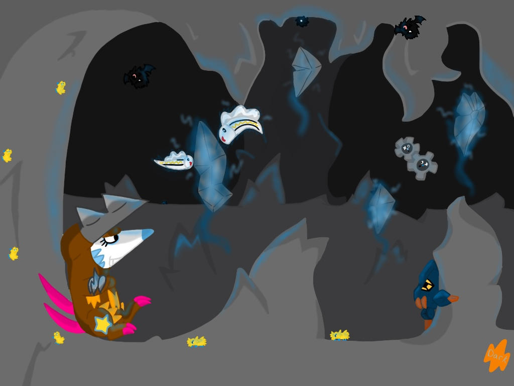 Chargestone Cave-Art Battle