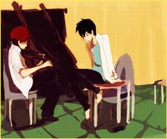 Violin by kyuubikun