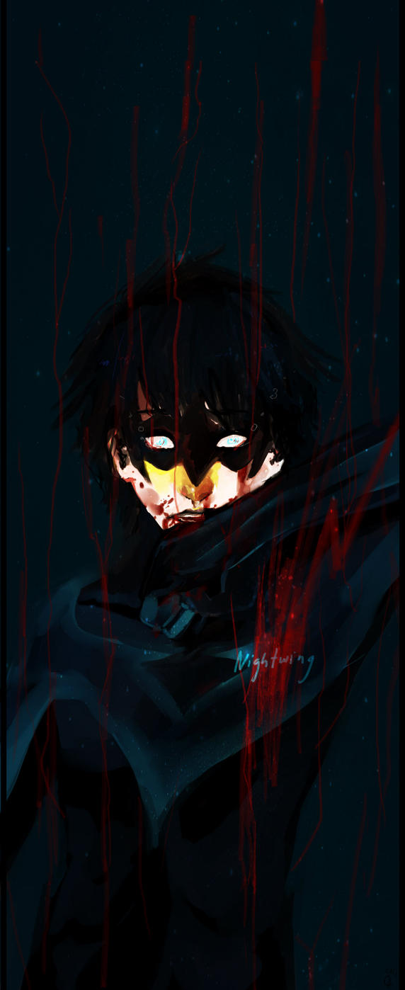 +Nightwing+ by kyuubikun