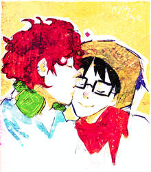 'scuse me while I kiss ur glasses by kyuubikun