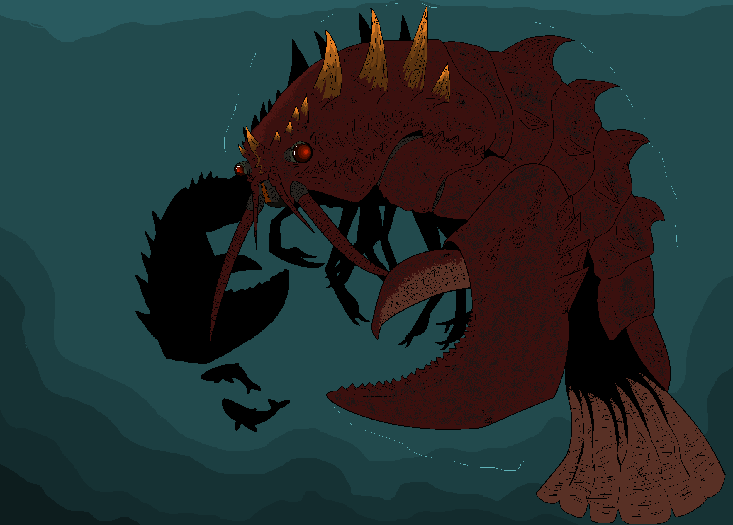 Legendary Ebirah - Godzilla Fan Works Forum
