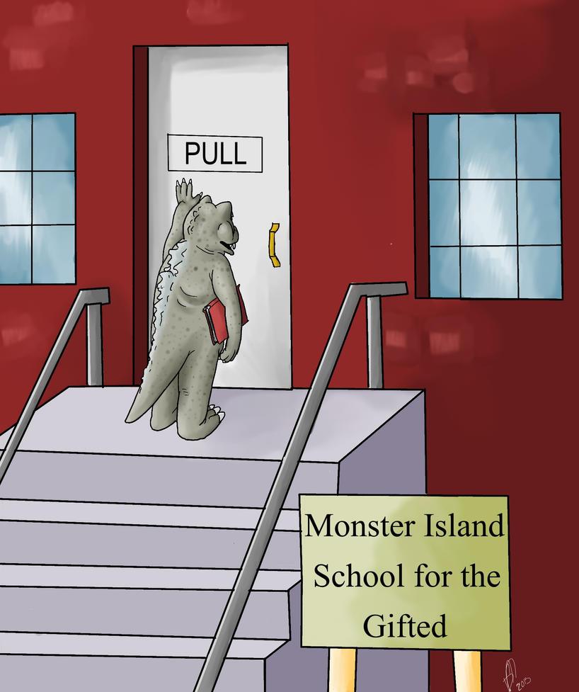 Far Side Comic Gifted School