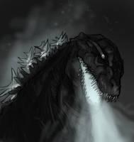 Godzilla:Resurgence Speculation doodle 2 by Daikaiju-Danielle