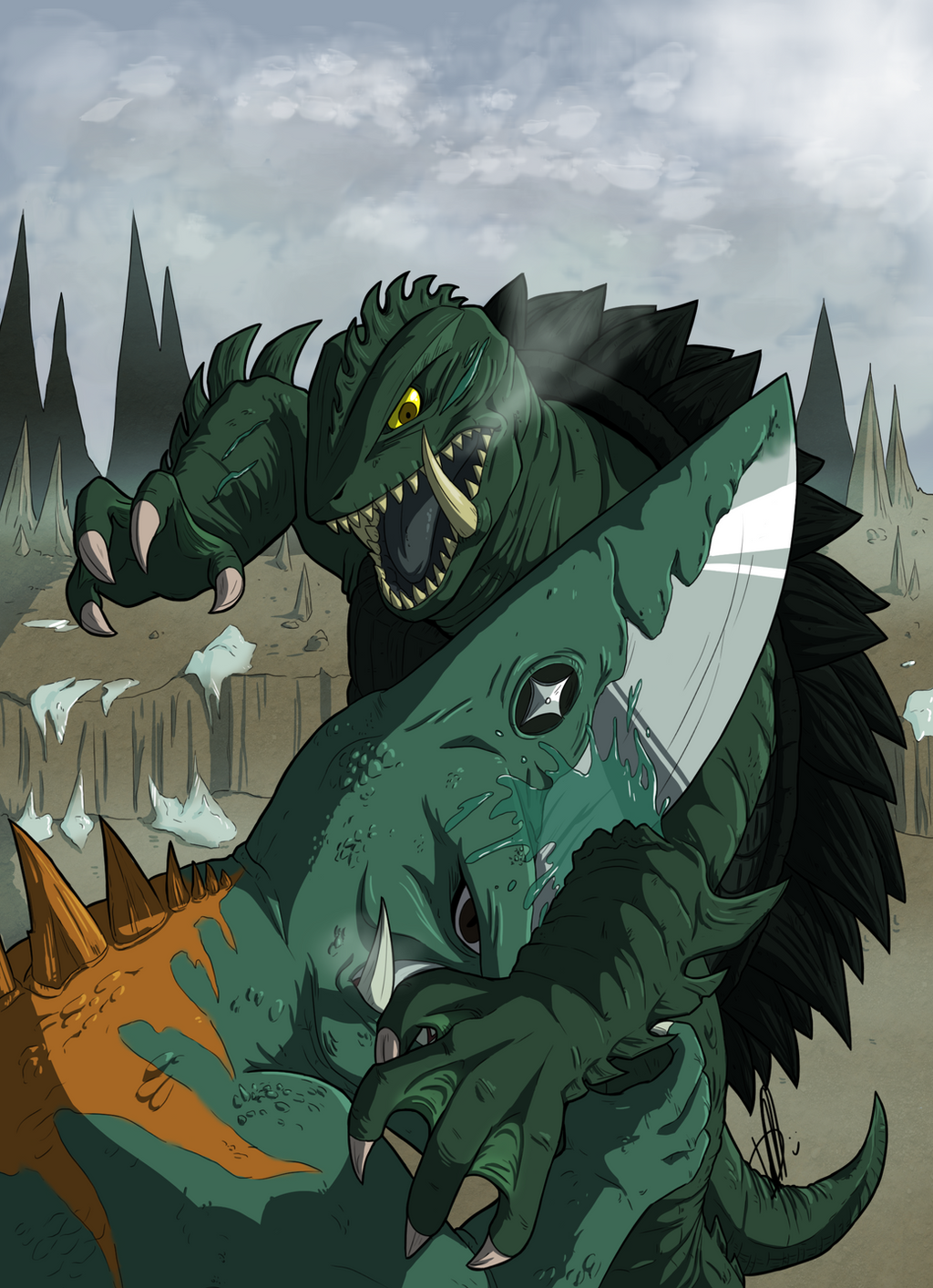 Gamera by Daikaiju-Danielle on DeviantArt