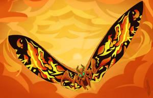 Legendary Mothra by Daikaiju-Danielle