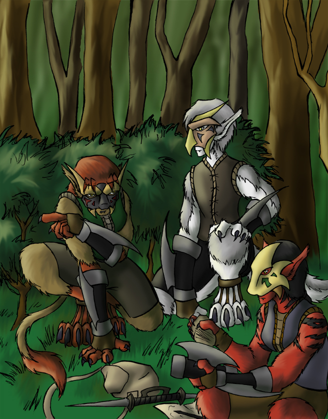Intruders Sighted by dragonsong12