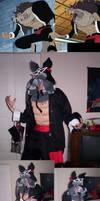 Wolfman Cosplay: OP Jyabura IP by dragonsong12