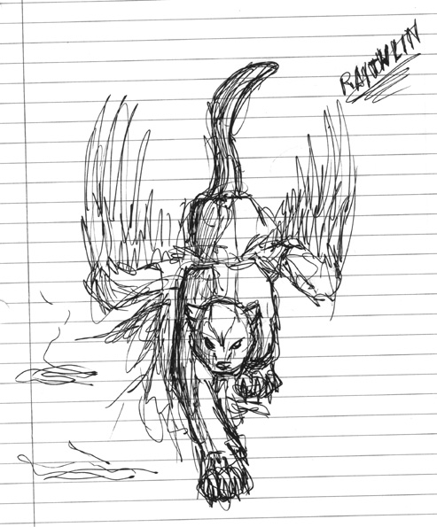 Raithlin sketch