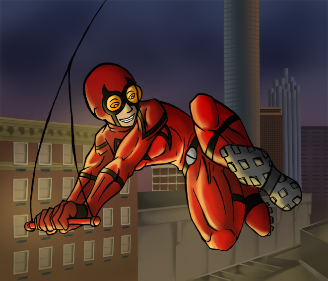 The Red Beetle by dragonsong12