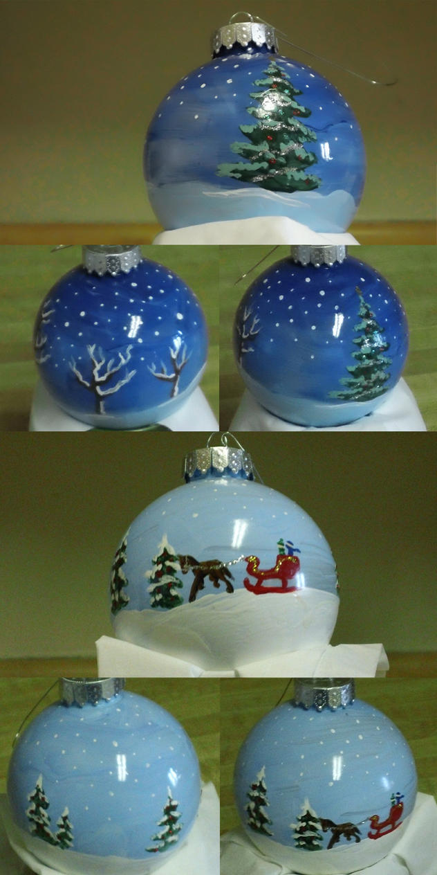 Christmas Ornaments by dragonsong12