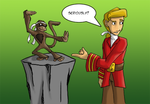 Escape from Monkey Island Let's Play Title by dragonsong12