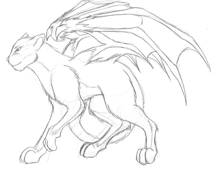Dragon Mirhe - cat form