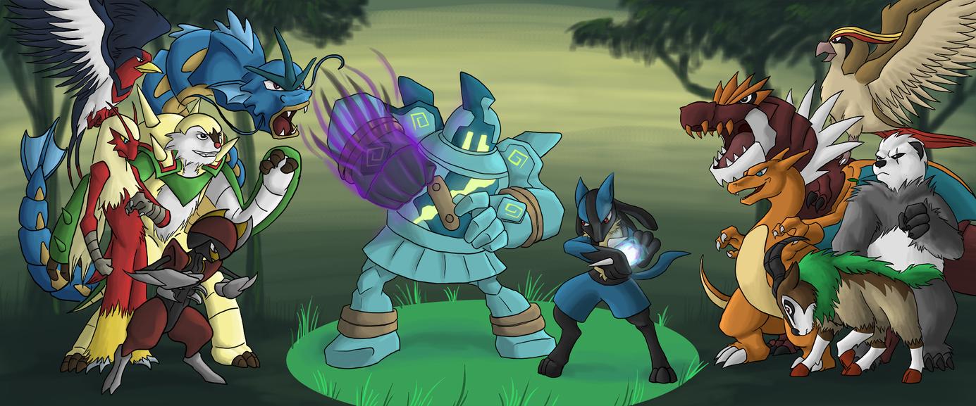 Showdown by dragonsong12