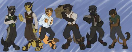 TM2 Boetheri Characters by dragonsong12