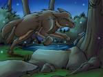 Druidofthewolf Commission #2 by dragonsong12