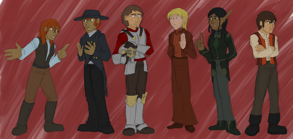 TM2 Human Characters by dragonsong12