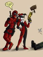 Harley and Wade by dragonsong12