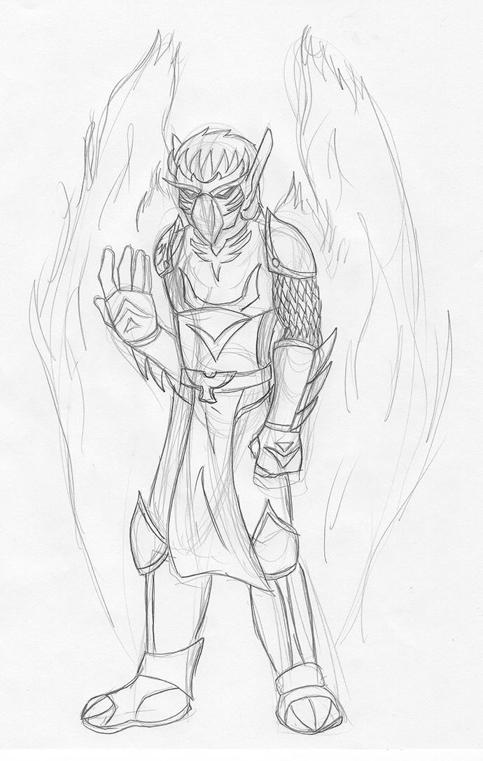 Phoenix by dragonsong12