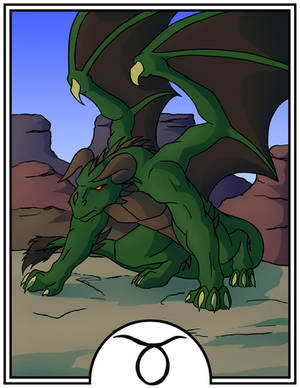 Zodiac Dragons - Taurus