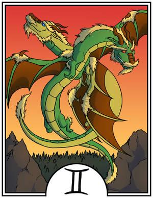 Zodiac Dragons - Gemini