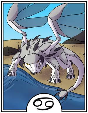 Zodiac Dragons - Cancer