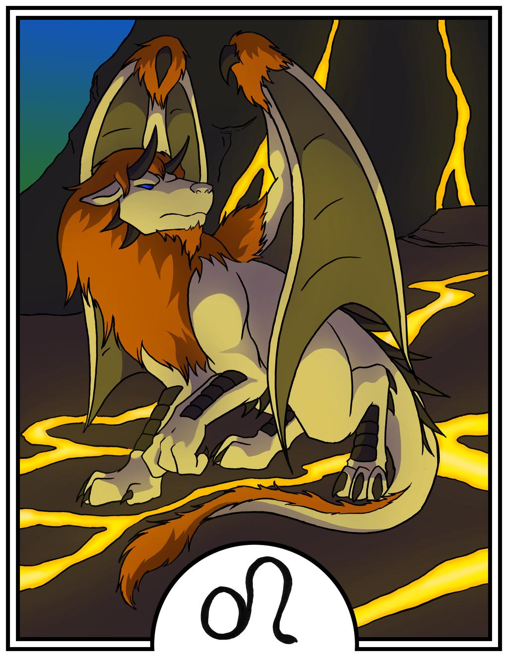 Zodiac Dragons - Leo by dragonsong12